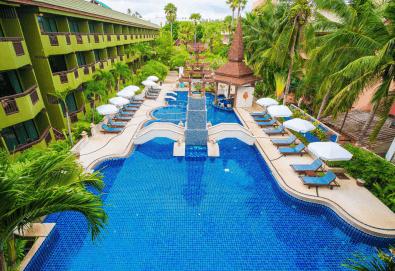 Екзотика и лукс! Почивка на остров Пукет, Тайланд, през октомври! 7 нощувки със закуски в хотел Phuket Island View 4*, билет с летищни такси, трансфери и водач - Снимка
