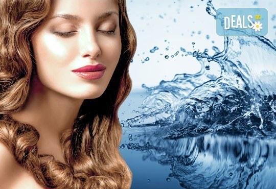 За бистър и сияен тен на кожата! Кислородна терапия за лице в студио за красота Fabio Salsa - Снимка 2