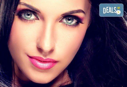 Подарете си изящен поглед с копринени мигли косъм по косъм или с 3D ефект в студио за красота Fabio Salsa! - Снимка 1