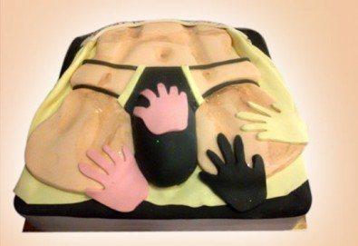 Party time! Еротична торта за момински и ергенски партита или за специален празник на любим човек от Сладкарница Джорджо Джани - Снимка
