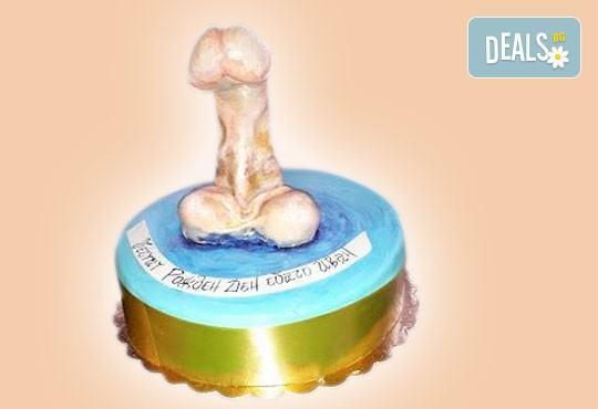 Party time! Еротична торта за момински и ергенски партита или за специален празник на любим човек от Сладкарница Джорджо Джани - Снимка 6