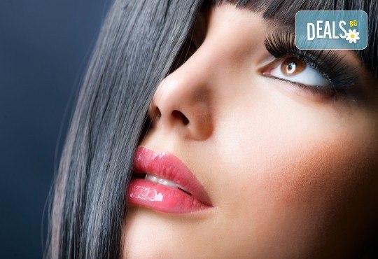 Пленителен поглед! Удължаване и сгъстяване на мигли по метода косъм по косъм от Beauty Studio Platinum - Снимка 3