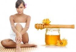 30-минутен мануален антицелулитен масаж с натурален пчелен мед на всички засегнати зони в ADI'S Beauty & SPA! - Снимка
