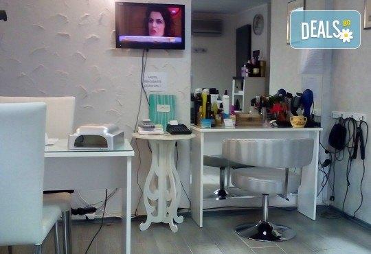 Боядисване с боя на клиента, масажно измиване, маска с хайвер, серум и оформяне на ежедневна прическа в студио за красота LD - Снимка 3
