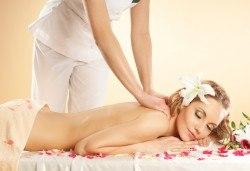 Отпуснете се със 60-минутен релаксиращ масаж на цяло тяло плюс захарен пилинг на гръб от Лаура стайл! - Снимка