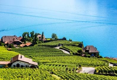 Самолетна екскурзия до шоколадовата Швейцария с полет на Wizz Air и посещение на Женева, Лозана и Монтрьо: 3 нощувки със закуски и самолетен билет от Травел Мания! - Снимка