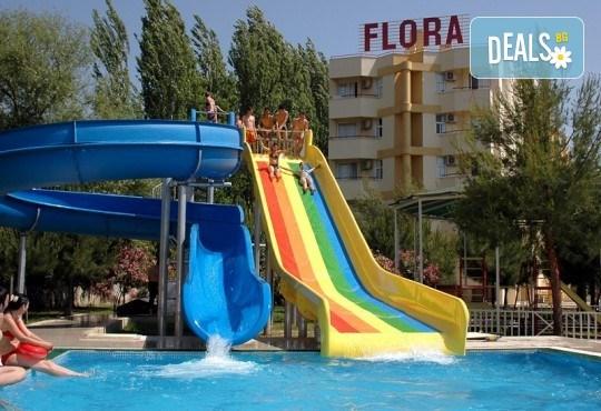 Лятна почивка в Кушадасъ, Турция! 7 нощувки на база All Inclusive във Flora Suites 3*, безплатно за дете до 12.99 г. - Снимка 2