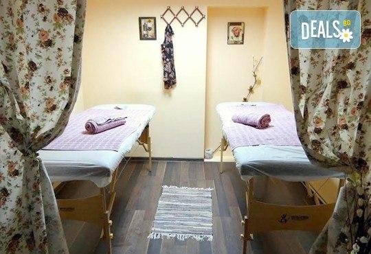 Антицелулитен масаж и стягаща терапия за тяло с пилинг, вакуум и ръчен масаж, 1 или 5 процедури, 60 или 30 минути, в масажен център My Spa! - Снимка 7