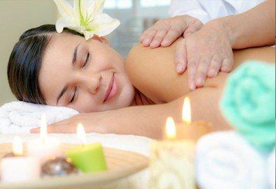 СПА микс! Комбиниран масаж на тяло с елементи на класически и тайландски масаж, ароматерапия с френска лавандула в My Spa! - Снимка