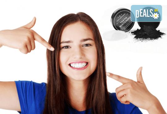 Красива и сияйна усмивка без усилие! Кокосов прах за избелване на зъби Teeth Whitening от Grizzly Mall от Shills - Снимка 2