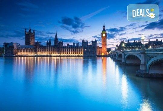 През октомври или ноември до Лондон: 3 нощувки, билет с летищни такси, трансфери