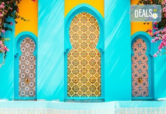 Екзотична почивка в Мароко: 7 нощувки със закуски и вечери в хотели 4*, самолетен билет, трансфери и програма с обиколка на Есуира и Маракеш! - Снимка 1