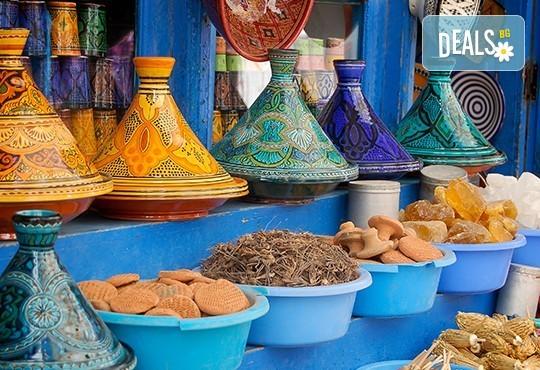 Екзотична почивка в Мароко: 7 нощувки със закуски и вечери в хотели 4*, самолетен билет, трансфери и програма с обиколка на Есуира и Маракеш! - Снимка 5