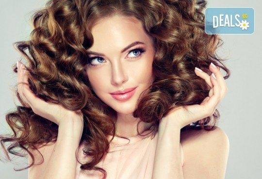 Забравете за пресата с арганова терапия за коса във фризьоро-козметичен салон Вили - Снимка 1