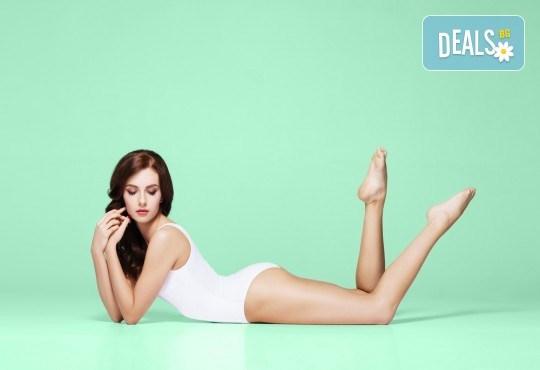 Извайте фигурата си с кавитация на зона по избор и мануален масаж за оптимален ефект в студио Beauty, Лозенец! - Снимка 1