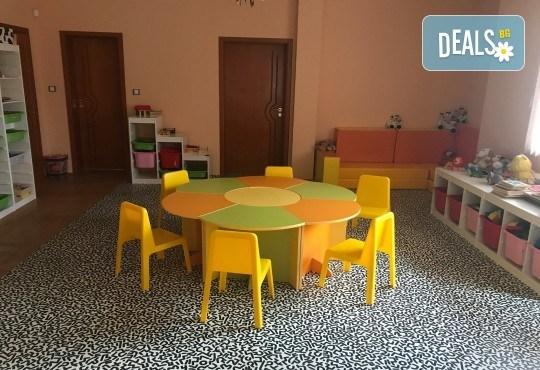 Един месец в целодневна детска градина в новооткриващата се нова база от веригата ЧДГ Славейче в жк Драгалевци! - Снимка 6