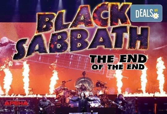 Само в Кино Арена! Прожекция на концерта The End of The End - финалът на последното турне на Black Sabbath, на 30.09. от 20ч., в София! - Снимка 1