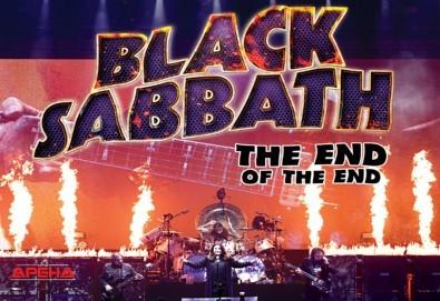 Само в Кино Арена! Прожекция на концерта The End of The End - финалът на последното турне на Black Sabbath, на 30.09. от 20ч., в София! - Снимка