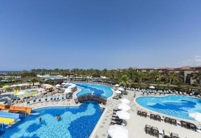 С деца на море през септември в Сиде, Анталия! 7 нощувки Ultra All Inclusive в хотел Club Calimera Serra Palace 5* и възможност за 2 вида транспорт! - Снимка