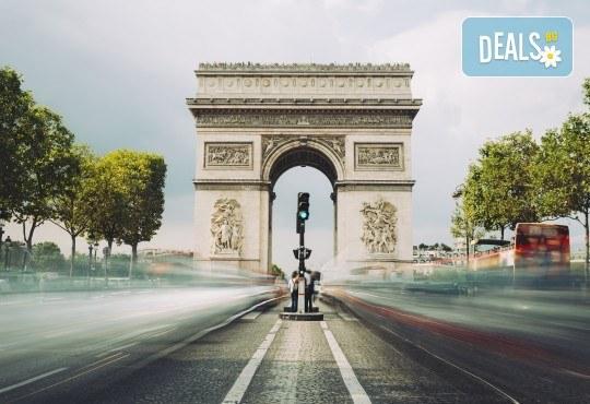 Самолетна екскурзия до Париж: 4 нощувки със закуски, билет, трансфер и такси