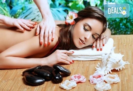 Тибетски 150-минутен SPA-MIX: масаж на цяло тяло с Hot-Stone терапия с вулканични камъни, масаж на лице и йонна детоксикация в център GreenHealth - Снимка 1