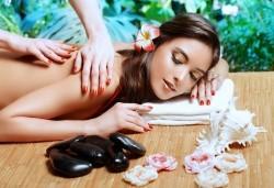 Тибетски 150-минутен SPA-MIX: масаж на цяло тяло с Hot-Stone терапия с вулканични камъни, масаж на лице и йонна детоксикация в център GreenHealth - Снимка