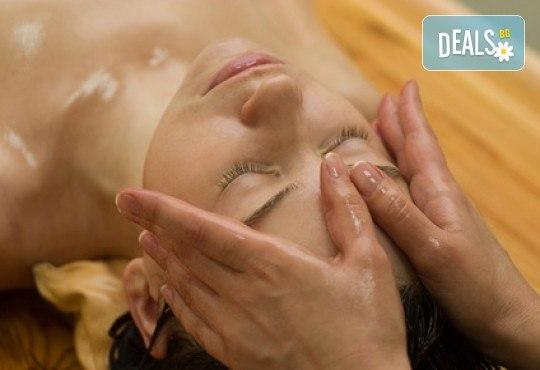150-минутен аюрведичен SPA Mix, включващ масаж на цяло тяло, глава и лице с аюрведична козметика, маска и йонна детоксикация в център GreenHealth - Снимка 1
