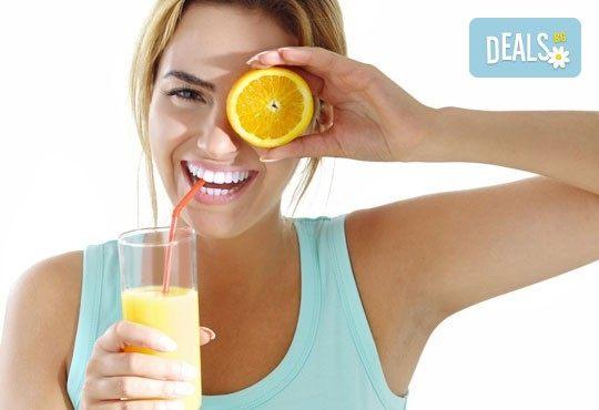 Свежи напитки! Един или два литра прясно приготвен фреш: лимонада, пъпеш, ябълка, кайсия или микс от Fresh & GO! - Снимка 1