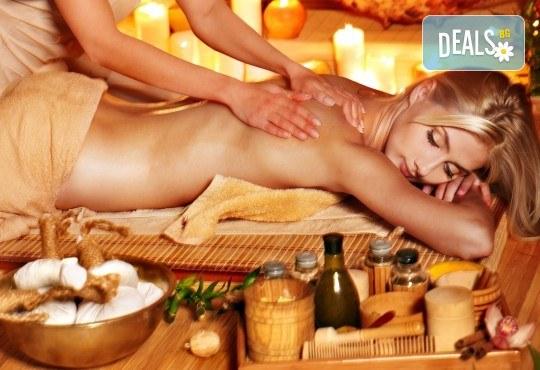 150-минутен SPA MIX - масаж на цяло тяло, лице, шия и деколте с раковини и козметична маска с перлен и златен прах в център GreenHealth - Снимка 3