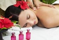 150-минутен хавайски SPA MIX - ломи-ломи масаж на цяло тяло с топли вулканични камъни и масаж на лице с мед в център GreenHealth - Снимка