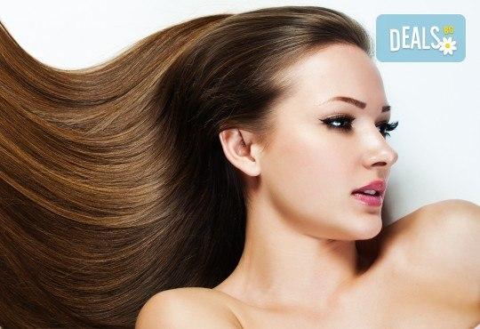 Полиране на коса и стилизиране с продукти на KEUNE за подхранване в Ивелина Студио! - Снимка 3