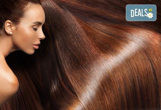 Полиране на коса и стилизиране с продукти на KEUNE за подхранване в Ивелина Студио! - Снимка 1