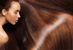 Полиране на коса и стилизиране с продукти на KEUNE за подхранване в Ивелина Студио! - Снимка
