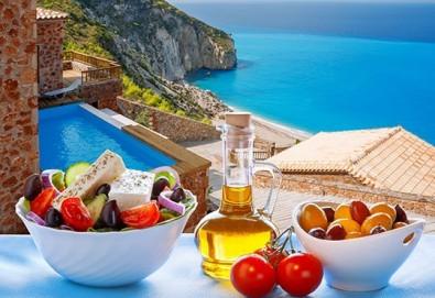 Септемврийски празници на остров Лефкада, Гърция! 3 нощувки със закуски, транспорт и възможност за парти круиз с DJ - Снимка