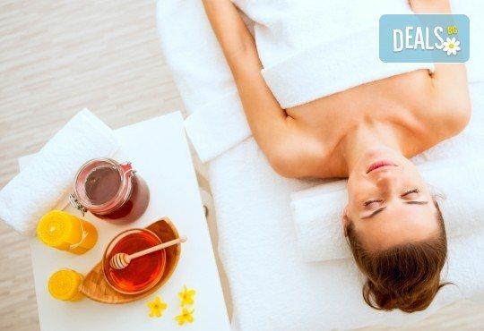 Масажът е здраве! Лечебен масаж на цяло тяло и пилинг маска с мед в Massage and therapy Freerun! - Снимка 2