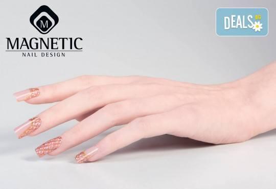 Бъдете изящни и красиви с маникюр с гел лак, 2 декорации и иновативна терапия за нокти по избор в салон Емоция! - Снимка 3