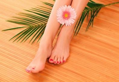 Дълготраен педикюр с гел лак BlueSky или Shellac в Салон за красота MISS BEAUTY! - Снимка