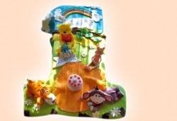 Честито бебе! Торта за изписване от родилния дом, за 1-ви рожден ден или за прощъпулник! Специална оферта на Сладкарница Джорджо Джани! - Снимка