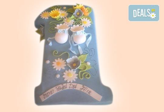 Честито бебе! Торта за изписване от родилния дом, за 1-ви рожден ден или за прощъпулник! Специална оферта на Сладкарница Джорджо Джани! - Снимка 15