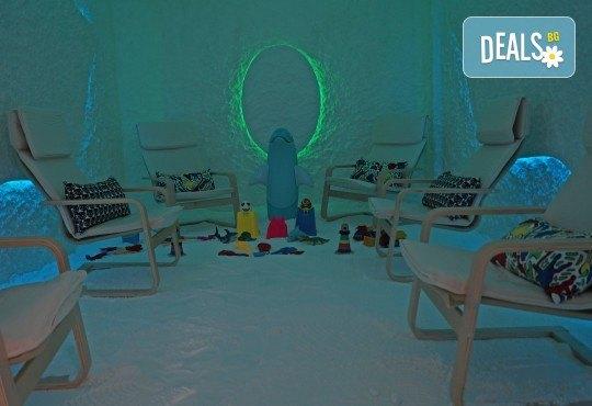 С грижа за здравето! 1 процедура в солна стая Биохелт за деца до 12г. или за възрастни - Снимка 3