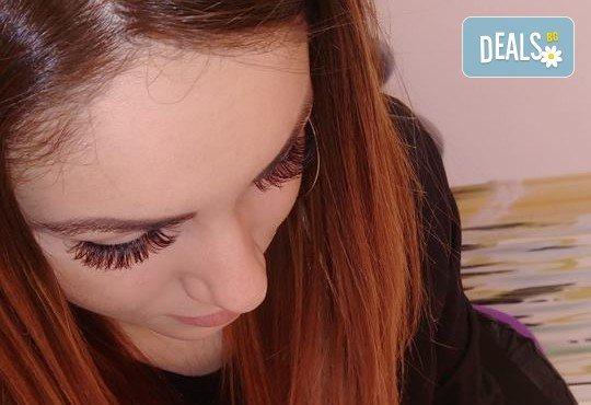 Диамантени мигли - хит за 2017! Поставяне на мигли косъм по косъм на супер цена в Студио MNJ! - Снимка 5
