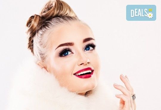 Диамантени мигли - хит за 2017! Поставяне на мигли косъм по косъм на супер цена в Студио MNJ! - Снимка 1