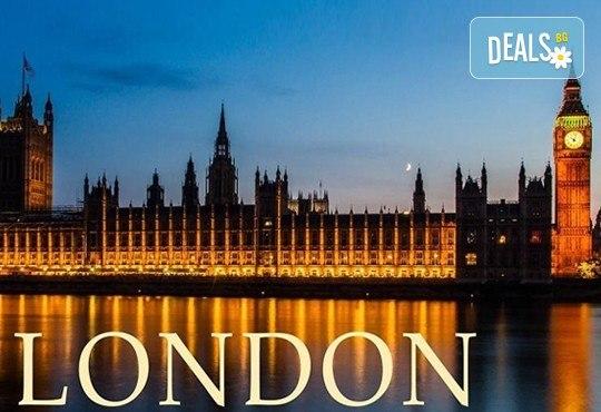 Самолетна екскурзия до Лондон с Дари Травел! 3 нощувки със закуски в Royal National Hotel 3*, билет, летищни такси, трансфери и богата програма - Снимка 1
