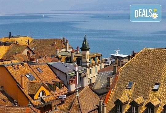 Самолетна екскурзия до Швейцария през септември с посещение на Цюрих, Женева, Лозана, Страсбург и Базел! 4 нощувки със закуски, самолетен билет и програма - Снимка 3