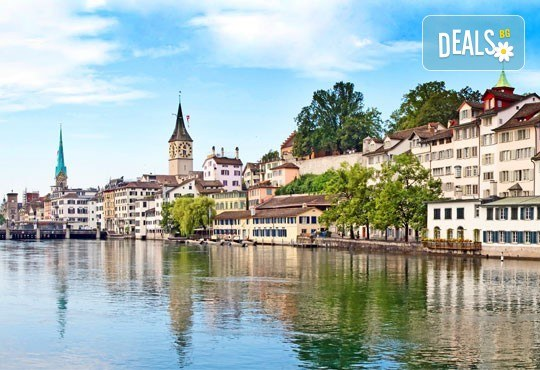 Самолетна екскурзия до Швейцария през септември с посещение на Цюрих, Женева, Лозана, Страсбург и Базел! 4 нощувки със закуски, самолетен билет и програма - Снимка 2