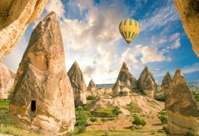 Кападокия - скални чудеса и изумителни гледки! 4 нощувки със закуски, транспорт, екскурзовод и бонус програми в долината Дервент и Пашабаг! - Снимка