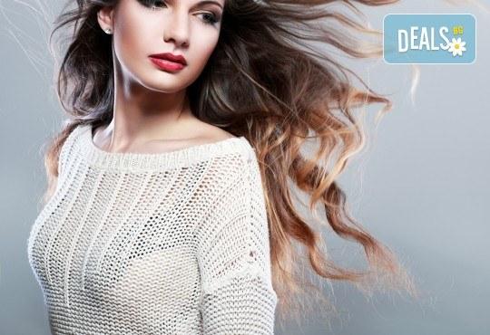 Дълбоко подхранваща кератинова терапия за коса, прав сешоар и плитка по избор в салон Veselina Todorova - Снимка 2