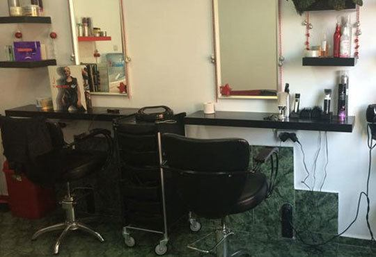 Възстановяваща арганова терапия за коса, подстригване, сешоар и плитка по избор в салон Veselina Todorova - Снимка 4