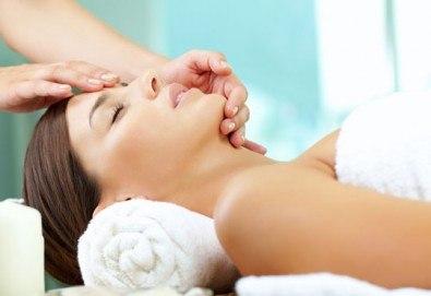 Козметичен масаж на лице с козметика на Glory и маска за дълбока хидратация и подхранване на кожата от Victoria Sonten!