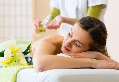 Релаксирайте с един или пет масажа на гръб с етерично масло по избор от ShuShe Lifestyle Center - Снимка